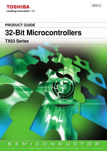 32-Bit Microcontrollers TX03 Series