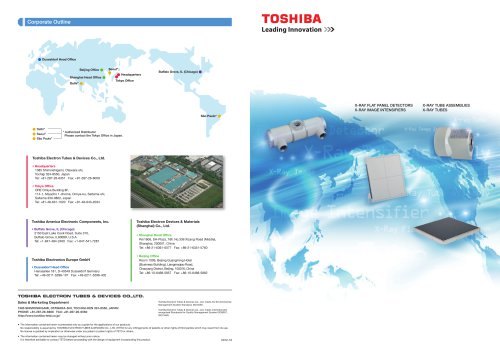 Electron Tubes &  Devices Product Catalog
