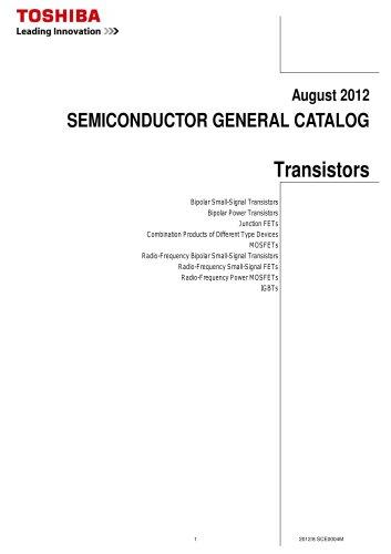 General Catalog (Transistors)