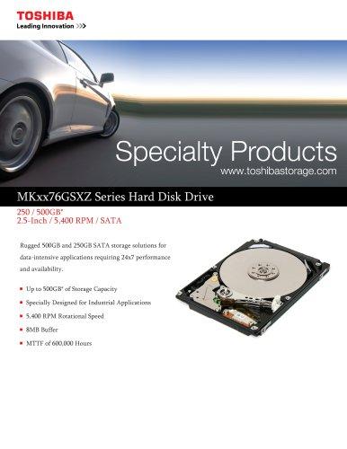 MKxx76GSXZ Series Hard Disk Drive