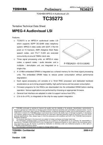 MPEG-4 CODEC