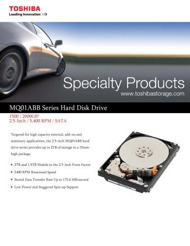 MQPIABB Series Hard Disk Drive