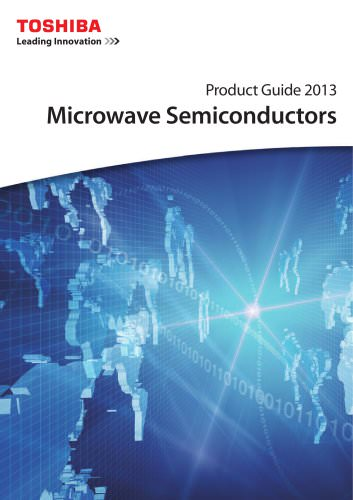 Product Guide 2013 Microwave Semiconductors