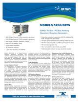 Model 5200/5325 50MS/s  PXIBus/PCIBus Arbitrary Waveform Generator