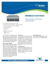 Model 9100/9200 300Vpp  Single/Dual Channel Signal Amplifier
