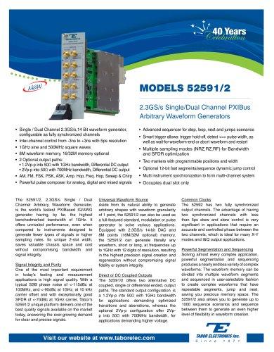MODELS 52591/2