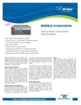 Models 9100A/9200A 400Vpp Single/Dual Channel Signal Amplifier