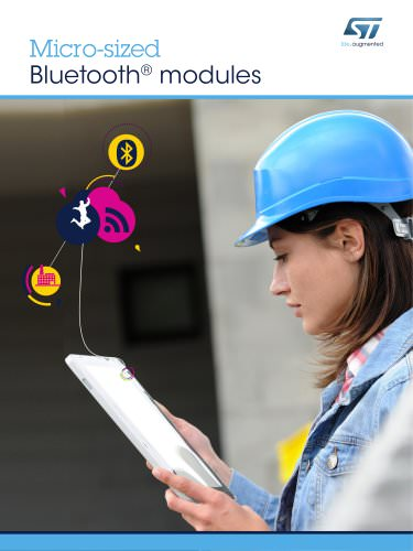 Micro-sized  Bluetooth® modules