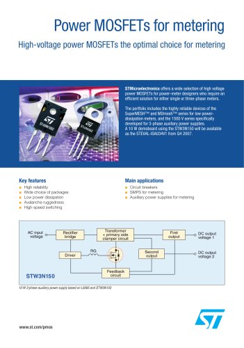 Power MOSFETs for metering