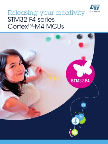 Releasing your creativity STM32 F4 series CortexTM?M4 MCUs