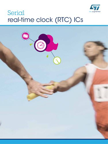 Serial real-time clock (RTC) ICs
