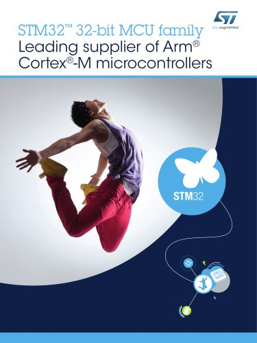 STM32 32-bit MCU family - Leading supplier of Arm® Cortex®-M microcontrollers