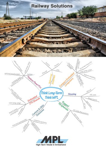 MPL AG Railway Solution brochure