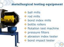 Metallurgical testing equipment - 3
