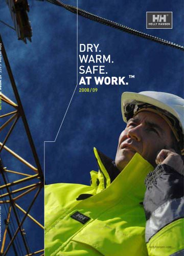 Helly Hansen WorkWear 2008/2009 - English
