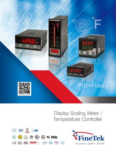 Display Scaling Meter / Temperature Controller