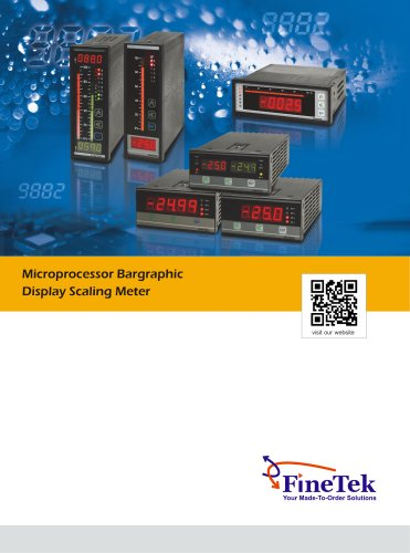 Microprocessor Based Bargraphic Display Scaling Meter