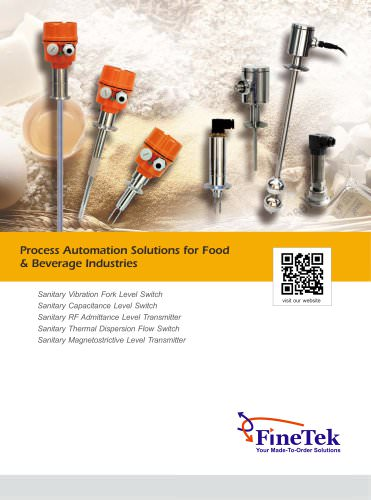 process automation solutions for food & beverage industries