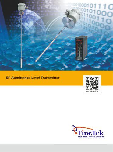 RF-Admittance Level Transmitter