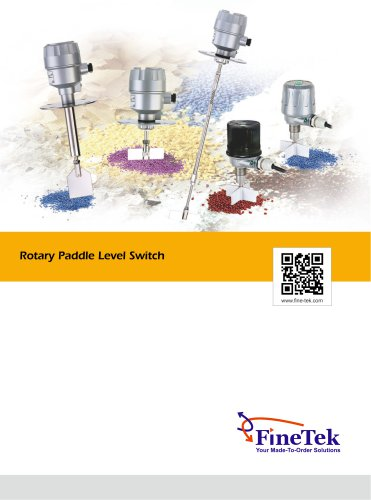 Rotary Paddle Level Switch