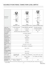 SC Series Tuning Fork Level Switch - 11