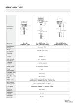 SC Series Tuning Fork Level Switch - 5