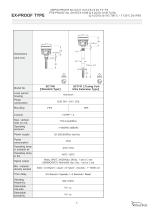 SC Series Tuning Fork Level Switch - 7