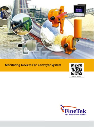 Speed Monitor/Convery Belt Misalignment Switch/Safety Cable Pull Switch
