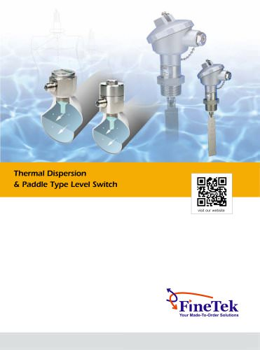 Thermal Dispersion/Paddle Flow Level Switch
