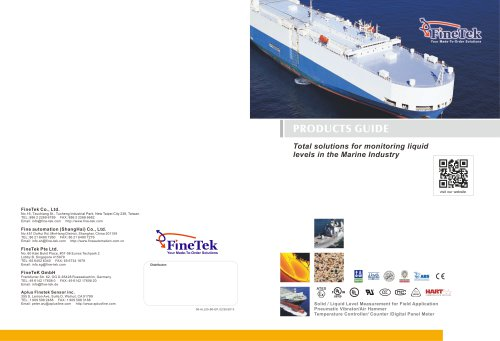 Total Solution for Monitaring liquid level in Marine Industry