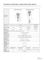 Tuning Fork Level Switch - 12
