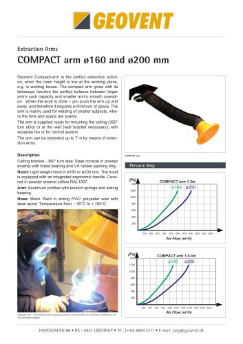 Compact arm