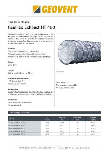 GeoFlex Exhaust HT-450