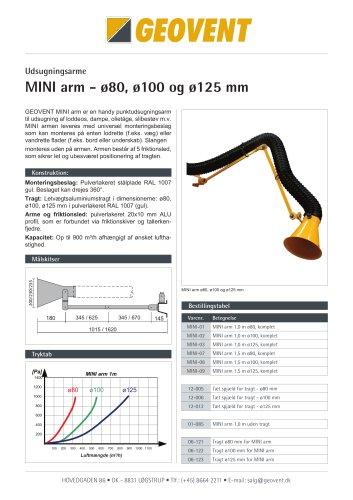 Mini arm