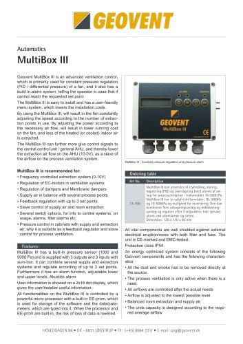 Multibox III