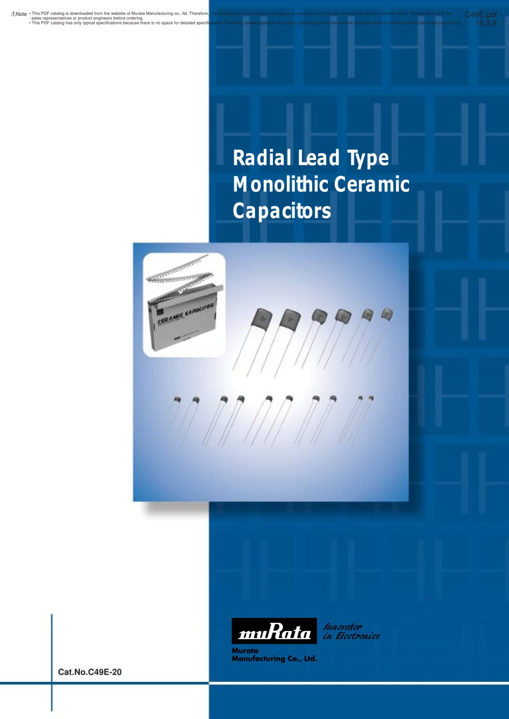 Types Of Capacitors Pdf