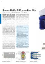 ANDRITZ Krauss-Maffei DCF crossflow filter - 2