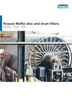 ANDRITZ Krauss-Maffei disc and drum filters - 1