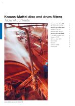 ANDRITZ Krauss-Maffei disc and drum filters - 2