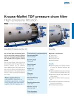 ANDRITZ Krauss-Maffei disc and drum filters - 5