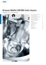 ANDRITZ Krauss-Maffei HD/BD helix dryers - 2