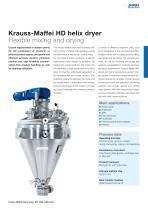 ANDRITZ Krauss-Maffei HD/BD helix dryers - 3