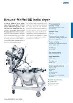 ANDRITZ Krauss-Maffei HD/BD helix dryers - 5