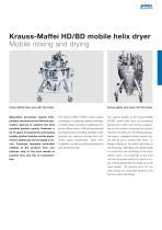 ANDRITZ Krauss-Maffei HD/BD helix dryers - 7