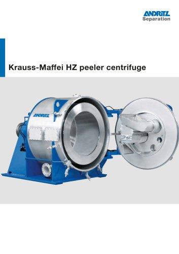 ANDRITZ Krauss-Maffei HZ peeler centrifuge
