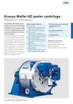 ANDRITZ Krauss-Maffei HZ peeler centrifuge - 3