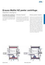 ANDRITZ Krauss-Maffei HZ peeler centrifuge - 5