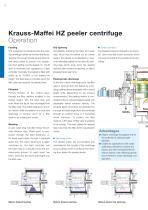 ANDRITZ Krauss-Maffei HZ peeler centrifuge - 6