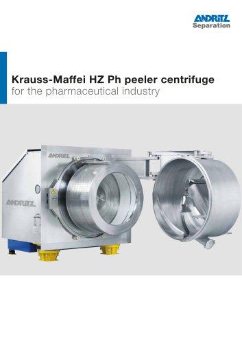 ANDRITZ Krauss-Maffei HZ Ph pharma peeler centrifuge