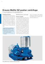 ANDRITZ Krauss-Maffei SZ pusher centrifuge - 10